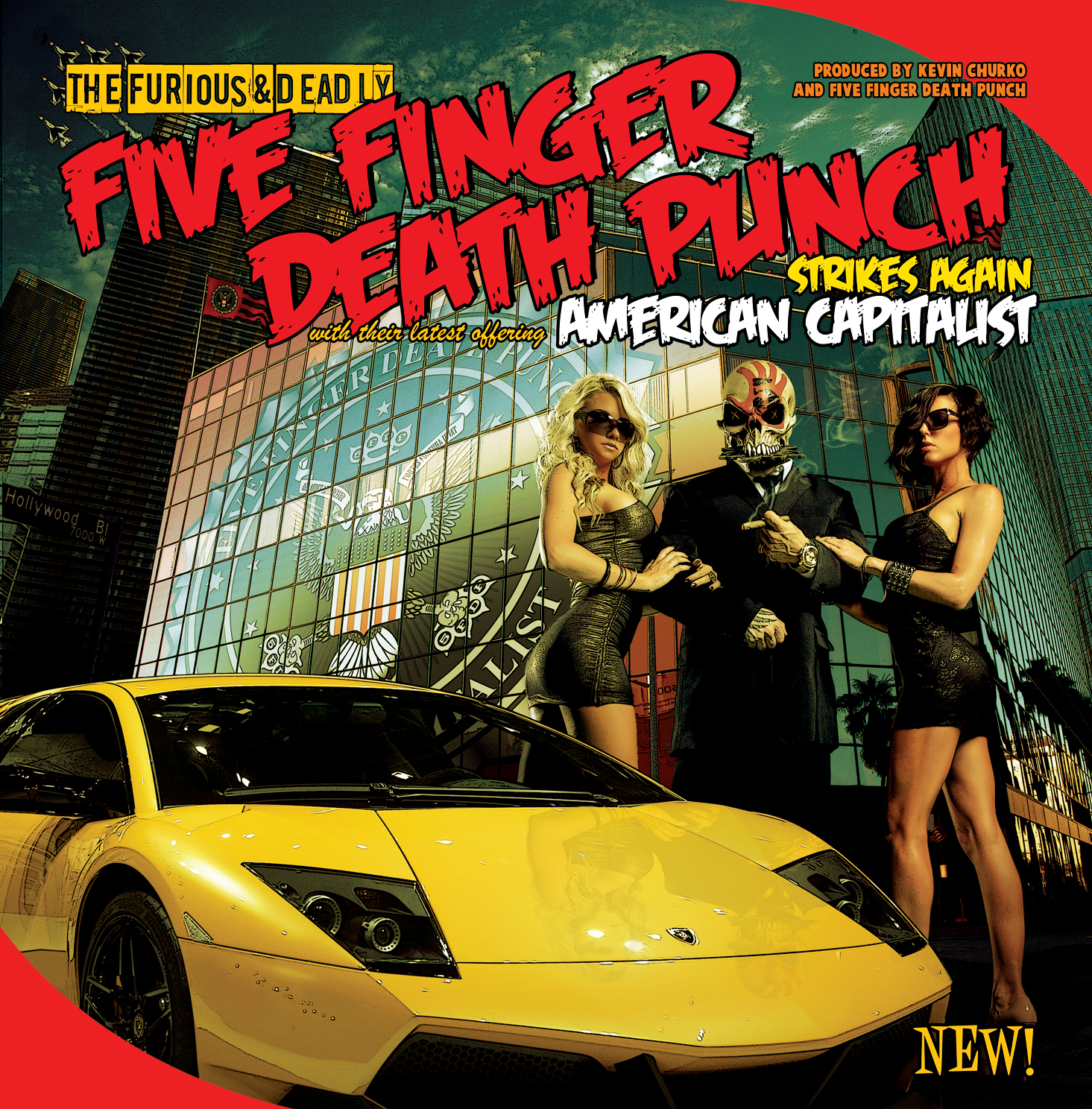 Review – Five Finger Death Punch 'American Capitalist'
