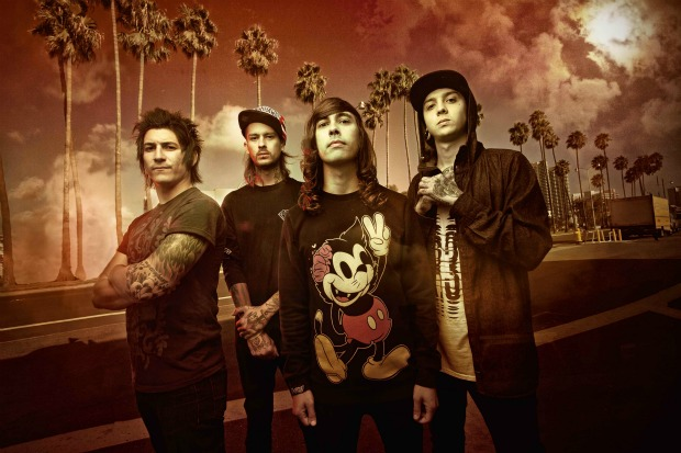 Pierce The Veil Pierce The Veil Announce 'Collide With The Sky' Tour