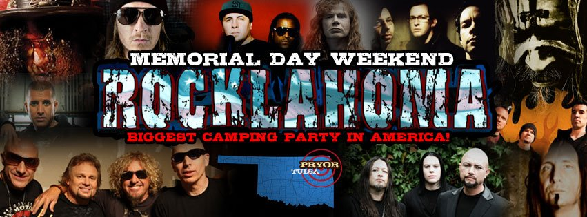 Rocklahoma Daily Lineups Announced