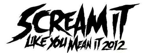 2012 Scream It Like You Mean It Tour Lineup Announce