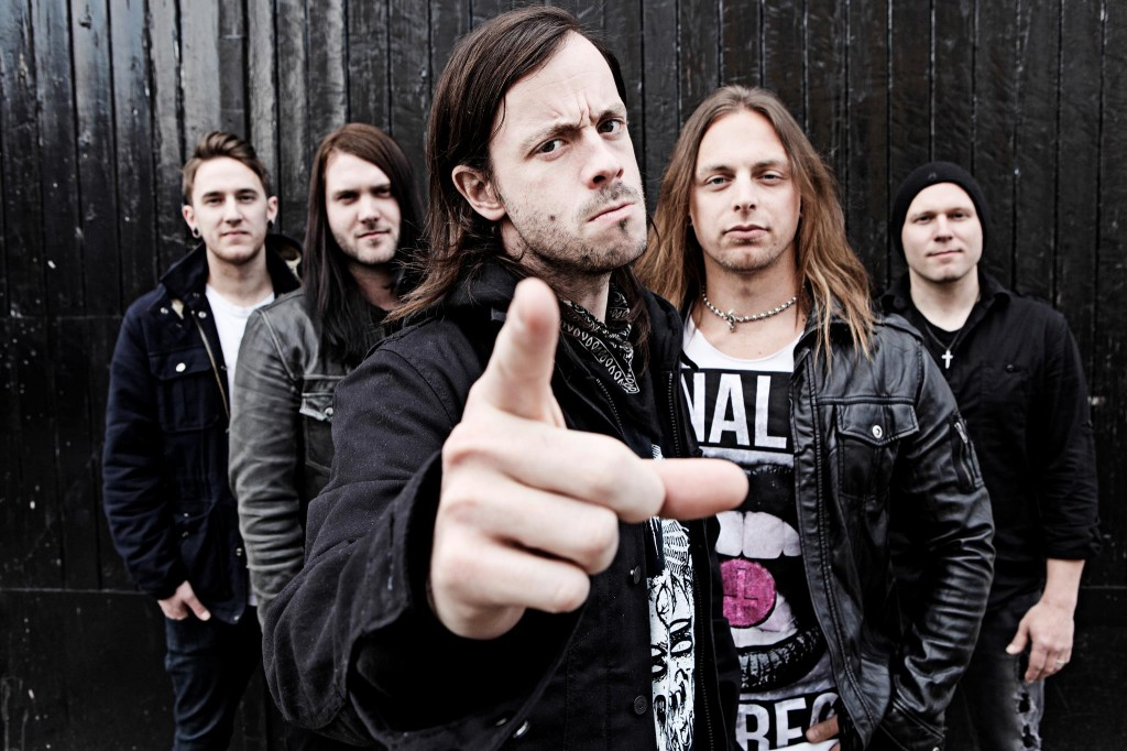 AxeWound 1024x682 Members Of Cancer Bats, Bullet For My Valentine Form AxeWound