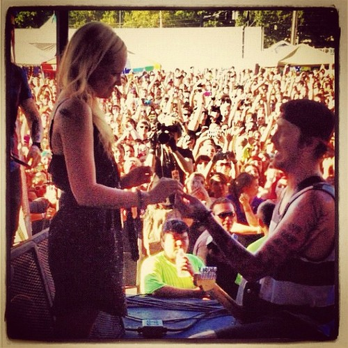 Top Nine Instagram Posts >> Jesse Lawson (Sleeping With Sirens) Proposes To His Girlfriend At Oregon Warped Tour