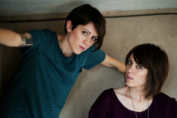 "Tegan And Sara New Song   Tegan And Sara ""I'm Not Your Hero"""