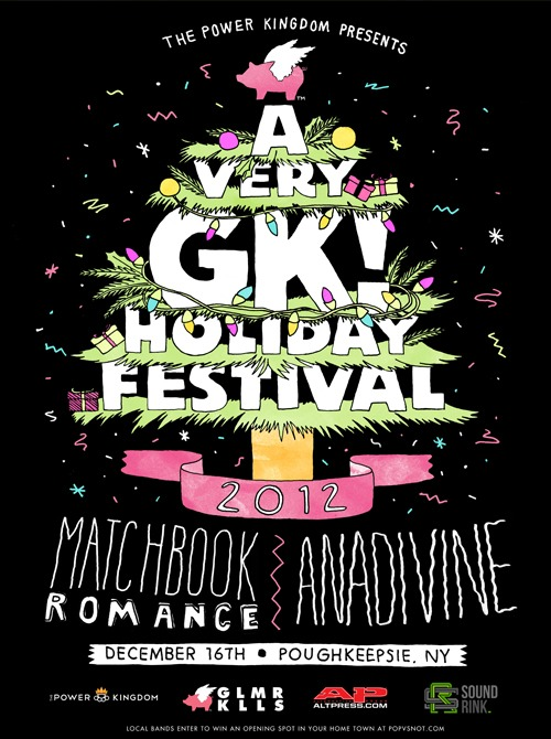 A Very GK Holiday Festival Matchbook Romance and Anadivine Reunite For A Very GK Holiday Festival