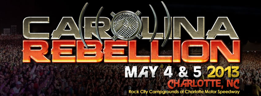 Carolina Rebellion 2013 Line-Up Revealed