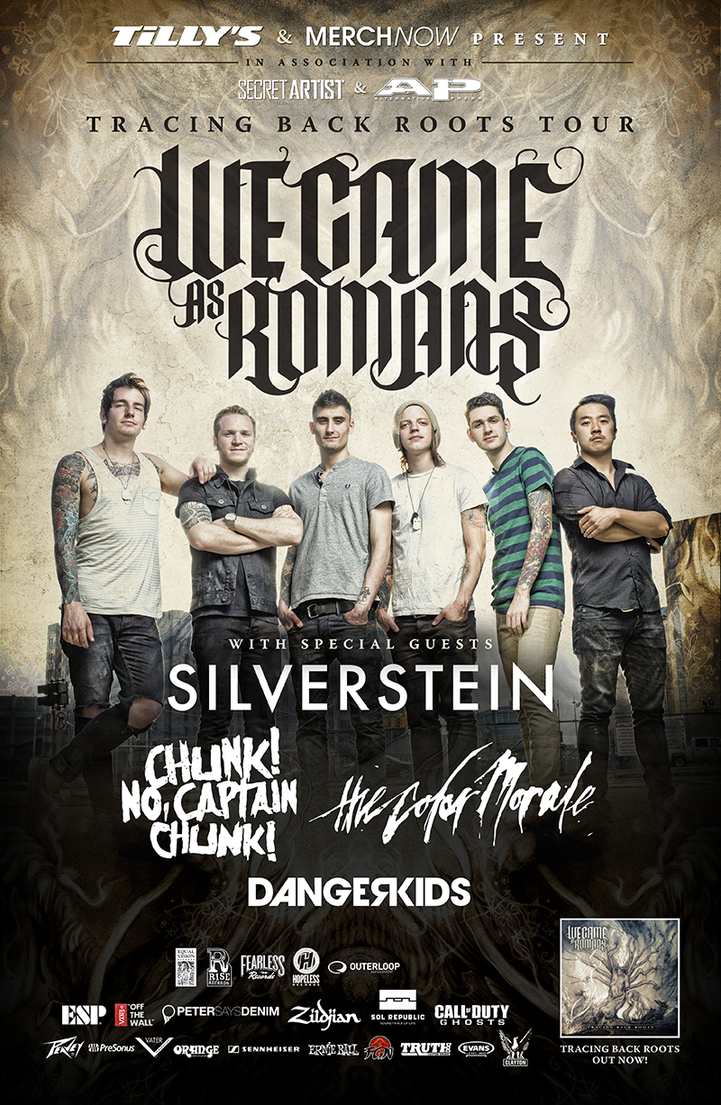 We Came As Romans Announce Headlining Tour With