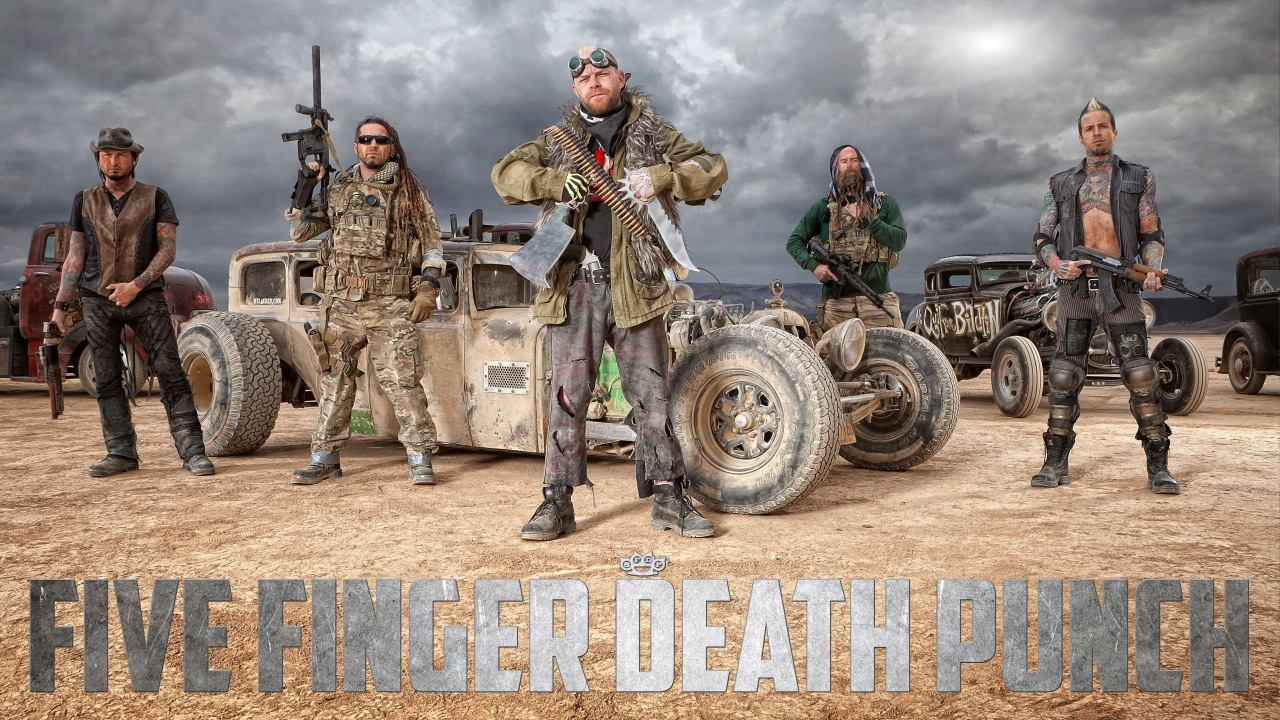 Five finger death punch volbeat add dates to their fall u for The sunhouse
