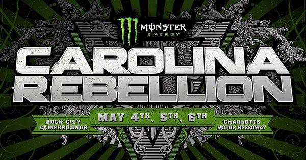 Carolina Rebellion Tour  Lineup